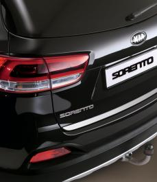 Накладка хромована на кришку багажника Sorento