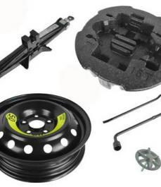 Комплект інструментів з сталевим диском без шини