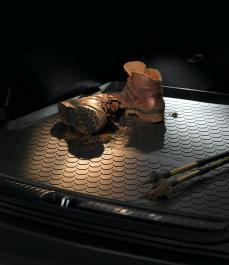 Автокилим гумовий в багажник (5 сидінь, двухст.) Sorento