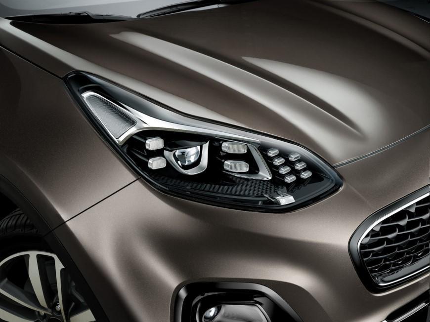 Перелік модифікацій Kia Sportage поповнився топ-версією «Лакшері»
