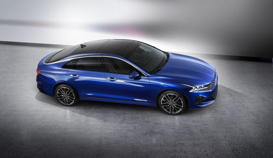 Kia Motors продемонструвала дизайн нової Optima (K5) для корейського ринку